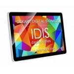 IDIS Tablet style signage displays