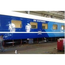 19-дюймовые потолчоные мониторы в поездах Чехии