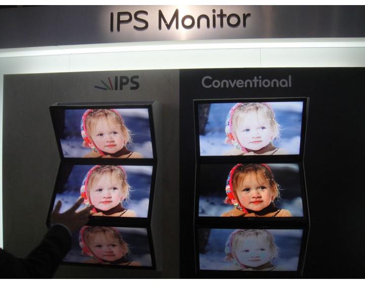 LCD и IPS экраны для рекламных мониторов