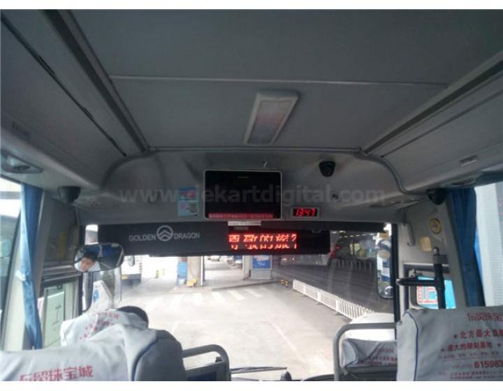 Dekart système DVD vidéo dans le bus pour l'aéroport
