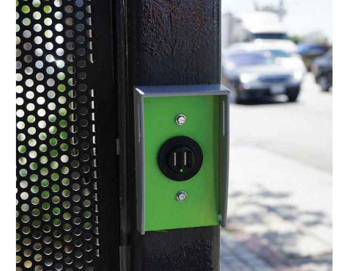 USB зарядки в автобусах, трамваях и троллейбусах