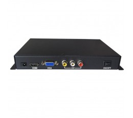 ADPLAYER-210HD Full HD Digital signage ad player in metal housing with door