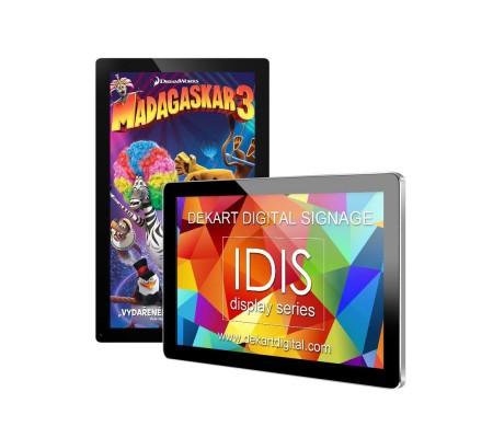 Digital signage Electronic idis DILUX-4201-BLK-SLV