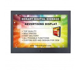 10 inch Commercial display for advertising DIPANEL-1000-BLK