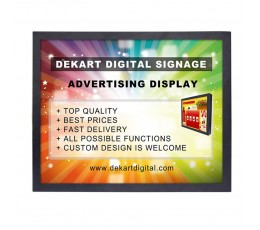15 inch Digital signage display DIPANEL-1500-BLK